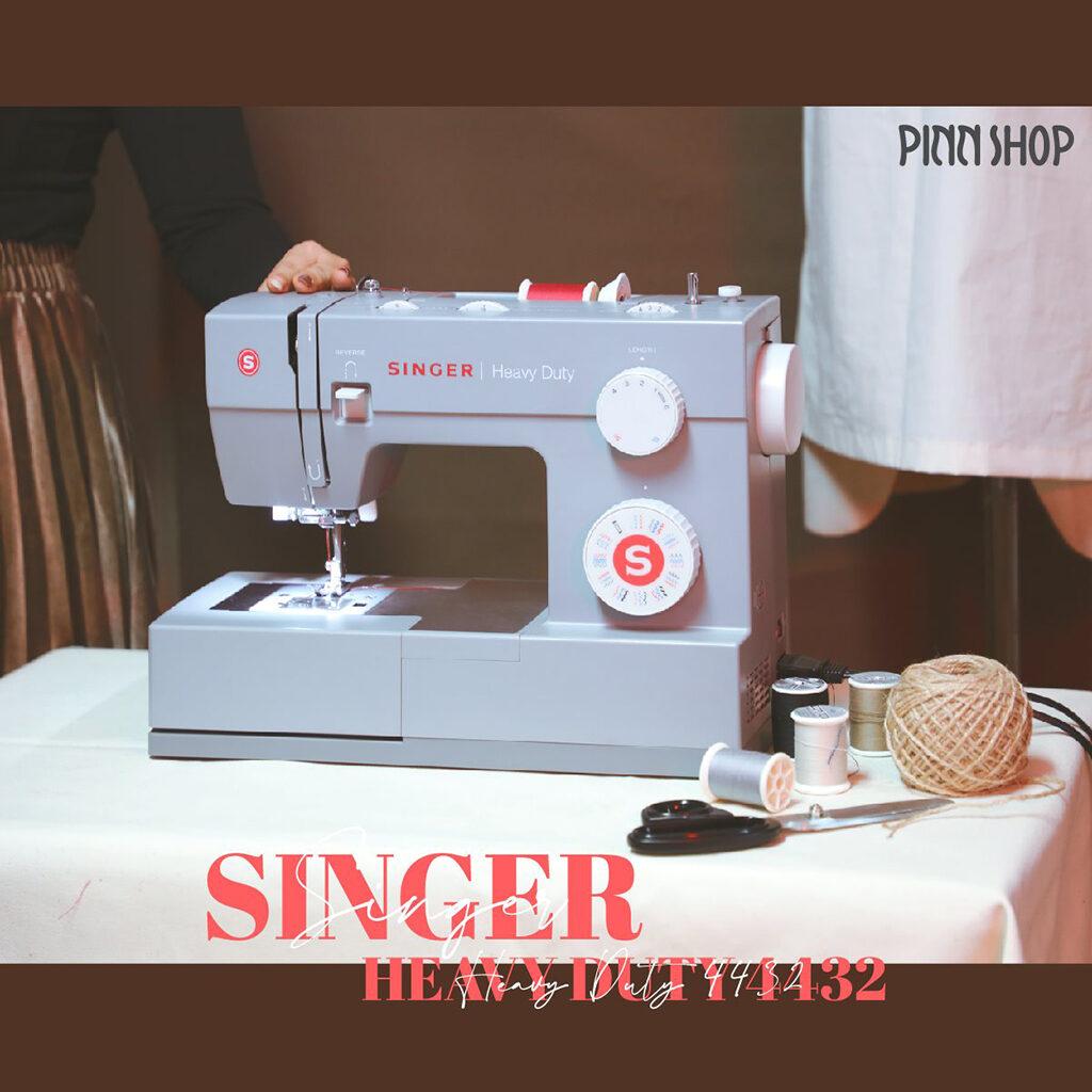 คู่มือจักรเย็บผ้าSinger 4432